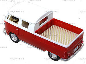 Металлический автобус Volkswagen Bus Double-Cab (1963), KT5387W, купить