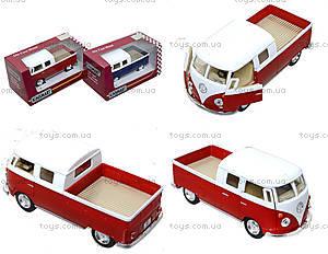 Металлический автобус Volkswagen Bus Double-Cab (1963), KT5387W
