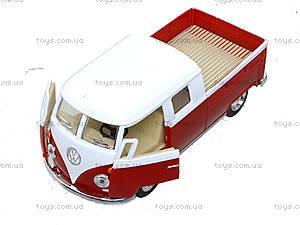 Металлический автобус Volkswagen Bus Double-Cab (1963), KT5387W, отзывы