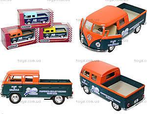 Металлический автобус Volkswagen Bus Delivery (1963), KT5396W