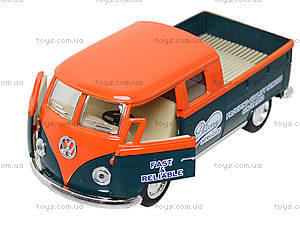 Металлический автобус Volkswagen Bus Delivery (1963), KT5396W, отзывы