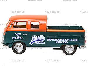 Металлический автобус Volkswagen Bus Delivery (1963), KT5396W, цена
