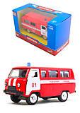 Пожарный автобус «Автопарк», 6402A, купить игрушку