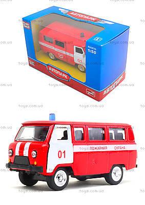 Пожарный автобус «Автопарк», 6402A