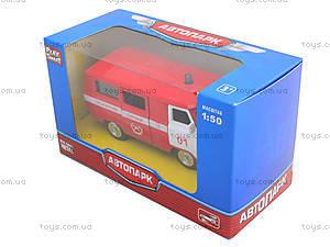 Пожарный автобус «Автопарк», 6402A, игрушки