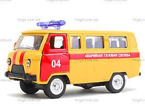 Модель автобуса «Аварийная служба», 6402D, фото
