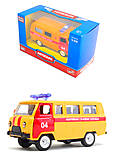 Модель автобуса «Аварийная служба», 6402D