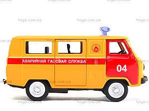 Модель автобуса «Аварийная служба», 6402D, игрушки