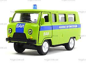 Металлическая модель автобуса «Автопарк», 6402E, игрушки