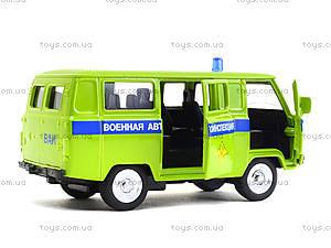 Металлическая модель автобуса «Автопарк», 6402E, детские игрушки