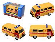 Детский инерционный автобус МЧС, 6402F, купить