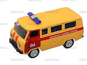 Детский инерционный автобус МЧС, 6402F, фото