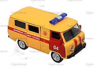 Детский инерционный автобус МЧС, 6402F, игрушки