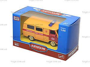 Детский инерционный автобус МЧС, 6402F, детские игрушки