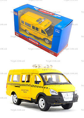 Модель автобуса-такси «Автопарк», 6404C