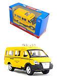 Модель автобуса-такси «Автопарк», 6404C, фото