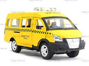 Модель автобуса-такси «Автопарк», 6404C, игрушки