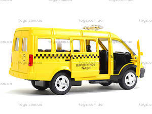 Модель автобуса-такси «Автопарк», 6404C, магазин игрушек