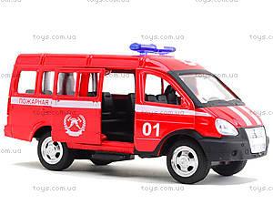 Модель пожарного автобуса «Автопарк», 6404E, фото