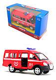 Модель пожарного автобуса «Автопарк», 6404E