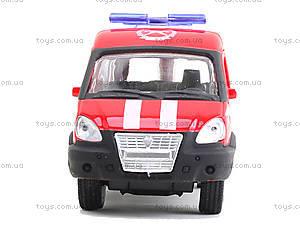 Модель пожарного автобуса «Автопарк», 6404E, игрушки