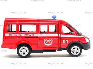 Модель пожарного автобуса «Автопарк», 6404E, магазин игрушек