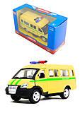 Инерционный автобус «Автопарк», 6404F, купить игрушку