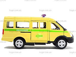Инерционный автобус «Автопарк», 6404F, игрушки