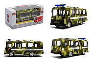 Модель военного автобуса, 6523-C, фото