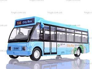 Модель автобуса, 8969-14, игрушки