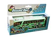 Модель автобуса салатового цвета, KT7103W, фото