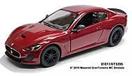Модель автомобиля Maserati GranTurismo, металлическая, KT5395W