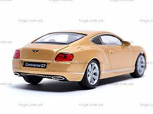 Модель Bentley Continental GT, 44036CW, купить