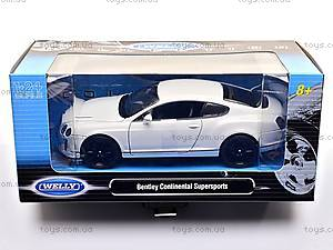 Модель BENTLEY CONTINENTAL, масштаб 1:24, 24018W