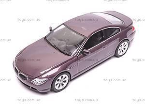 Модель BMW 645Ci, масштаб 1:24, 22457W, купить