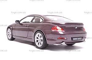 Модель BMW 645Ci, масштаб 1:24, 22457W, фото