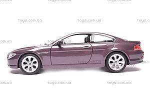 Модель BMW 645Ci, масштаб 1:24, 22457W, отзывы