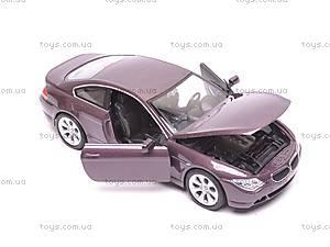 Модель BMW 645Ci, масштаб 1:24, 22457W, цена