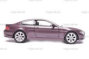 Модель BMW 645Ci, масштаб 1:24, 22457W