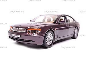 Модель BMW 745i, масштаб 1:24, 22446W, фото