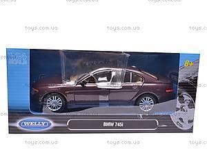 Модель BMW 745i, масштаб 1:24, 22446W, игрушки
