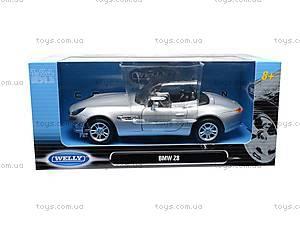 Модель BMW Z8, инерционная, 22084 W, магазин игрушек