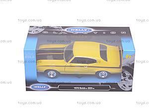 Модель Buick GSX, 22433W, цена