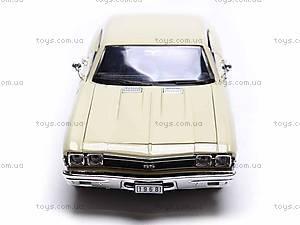 Модель Chevrolet Chevelle SS 396, 29397W, детские игрушки