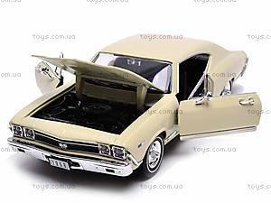 Модель Chevrolet Chevelle SS 396, 29397W, магазин игрушек