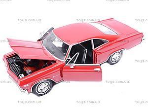 Модель Chevrolet Impala SS, 22417W, игрушки
