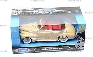 Модель Chevrolet Special Deluxe, масштаб 1:24, 22411W, цена
