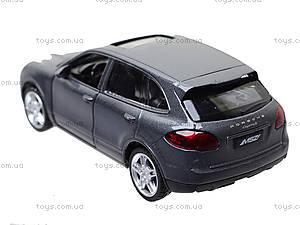 Модель джипа «Автодром» Porsche Cayenne, 6427, игрушки