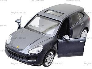 Модель джипа «Автодром» Porsche Cayenne, 6427, детские игрушки