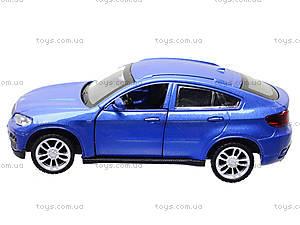 Металлическая машина BMW X6 «Автодром», 6435, купить
